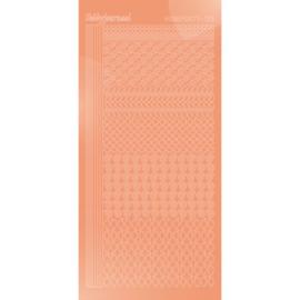 Hobbydots sticker - Mirror - Salmon   STDM19K
