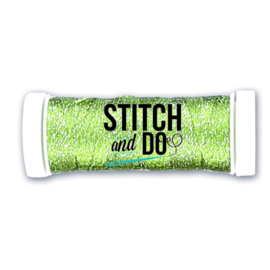 Stitch and Do Sparkles Embroidery Thread - Lime  SDCDS14