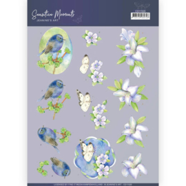 3D Cutting Sheet - Jeanine's Art - Sensitive Moments - Lily  CD11520