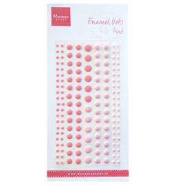 PL4517 - Enamel dots - two pink