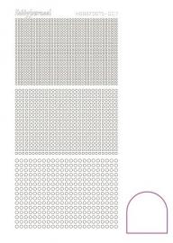 Hobbydots sticker serie 7 - Adhesive - White
