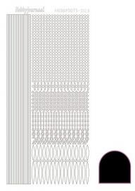 Hobbydots sticker - Adhesive - Black   nr.3