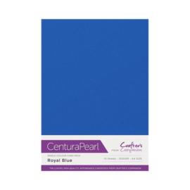 Centura Pearl enkelzijdig 1 Vel - Koninklijk blauw CP10-ROYALB