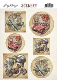 Scenery - Amy Design - Transportation  CDS10025