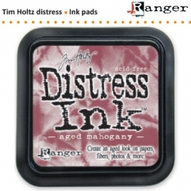 Tim Holtz distress ink pad aged mahogany 21407