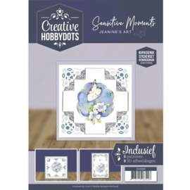 Creative Hobbydots 4 - Jeanine's Art - Sensitive Moments   CH10004
