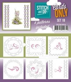 Stitch & Do - Cards only - Set 18