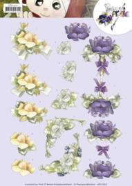 3D Knipvel - Precious Marieke - Roses    CD11212