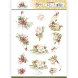 3D Pushout - Precious Marieke - Blooming Summer - Sweet Summer Flowers SB10353