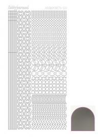 STDM118 Hobbydots sticker - Mirror - Silver