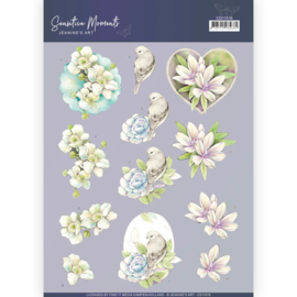 3D Cutting Sheet - Jeanine's Art - Sensitive Moments - Rose  CD11516