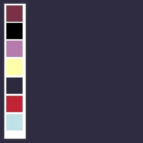 Linnenkarton - Vierkant - Donkerblauw  30