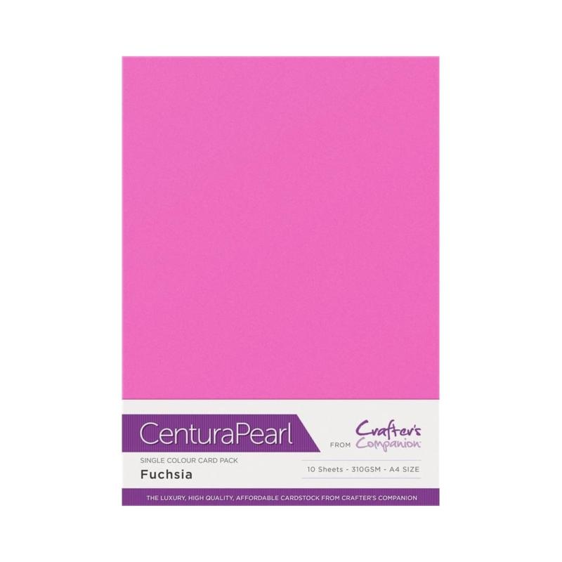 Centura Pearl enkelzijdig a 1 Vel - Fuchsia CP10-FUCH