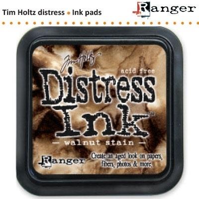 Tim Holtz distress ink pad walnut stain 19534