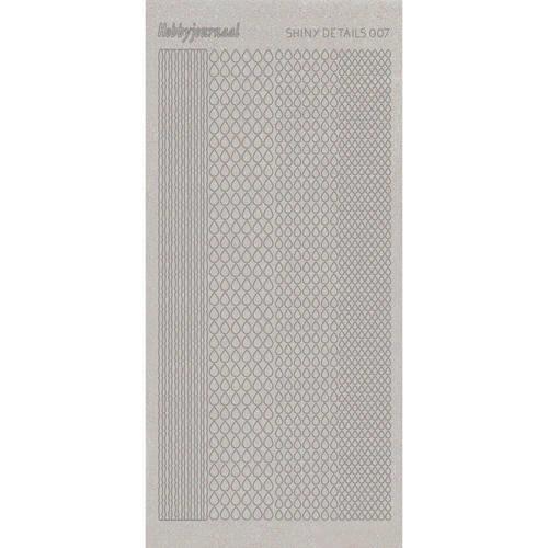 Shiny Details - Teardrop - Zilver   SDS007TZ