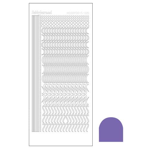 Hobbydots sticker 20 - Mirror Purple