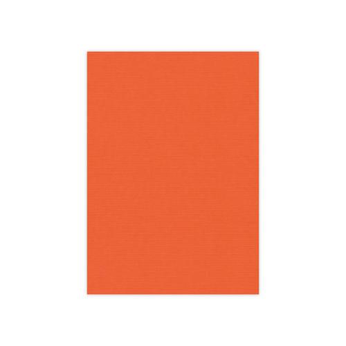 Linnenkarton - A4 - Oranje  11