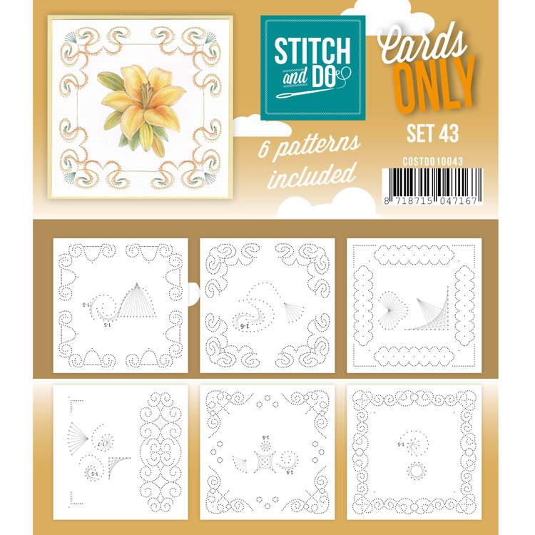 Cards only Stitch 43