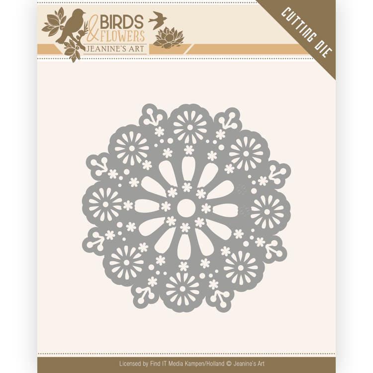Dies - Jeanine's Art - Birds and Flowers - Daisy Circle   JAD10060