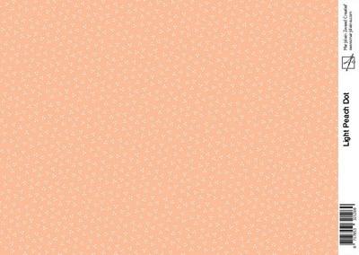 Marjoleine light peach dot