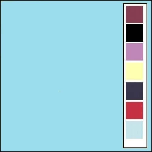 Linnenkarton - Vierkant - Lichtblauw  28