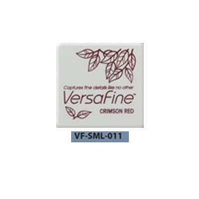 Versafine ink pads small 'Crimson Red' 011