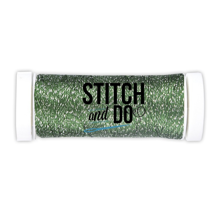 Stitch and Do Sparkles Embroidery Thread Forest Green  SDCDS07