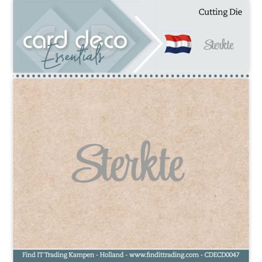 Card Deco Essentials - Cutting Dies - Sterkte CDECD0047