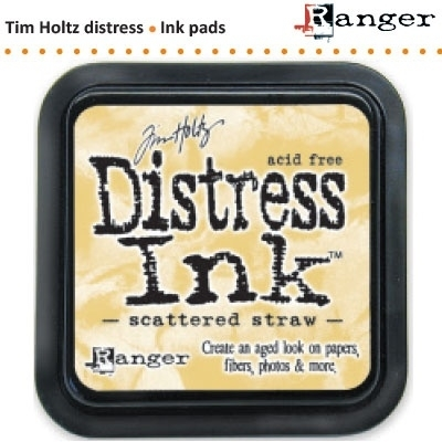 Tim Holtz distress ink pad scattered straw 21483