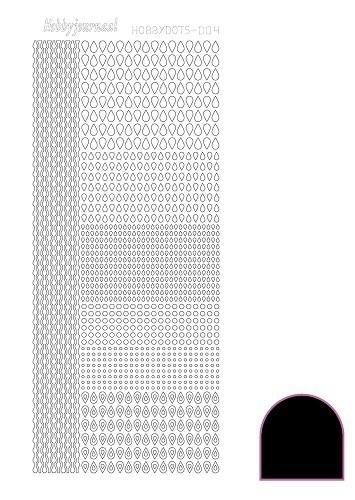 Hobbydots sticker - Adhesive - Black  nr.4