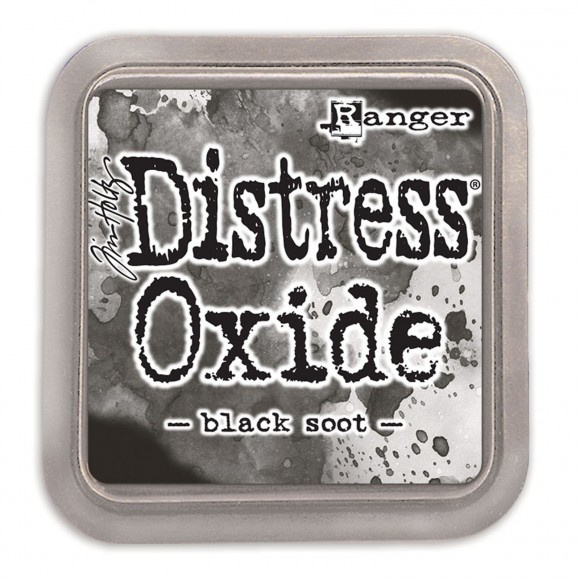 Ranger Tim Holtz distress oxide black soot TDO55815