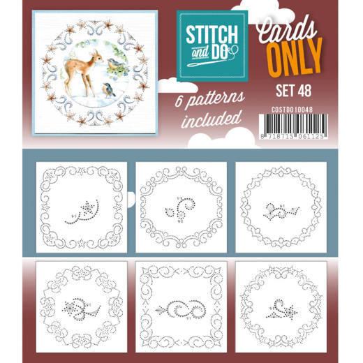 Cards only Stitch 48