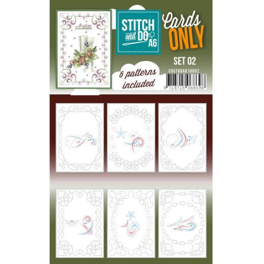 Cards Only Stitch A6 - 002