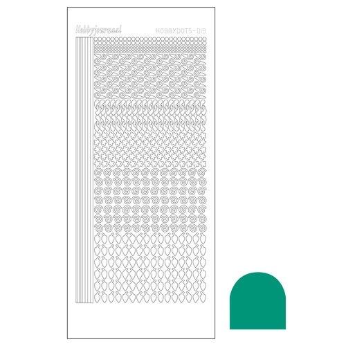 STDM19I Hobbydots sticker - Mirror Emerald