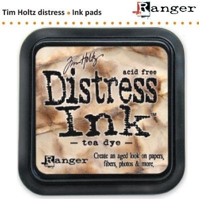 Tim Holtz distress ink pad tea dye 19510