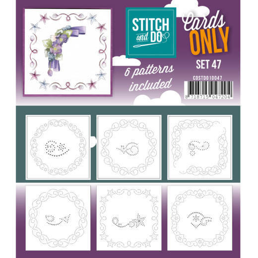 Cards only Stitch 47