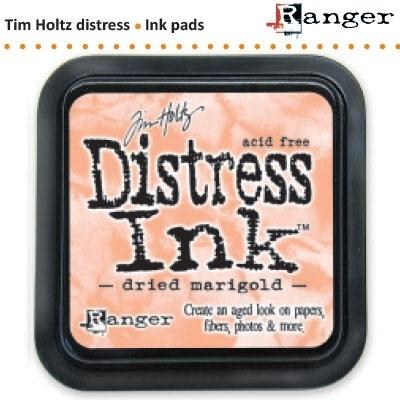 Tim Holtz distress ink pad dried marigold 21438