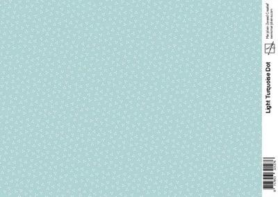 Marjoleine light turquoise dot