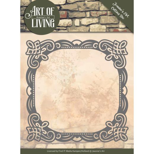 Dies - Jeanine's Art - Art of Living - Art of Living Frame  JAD10053