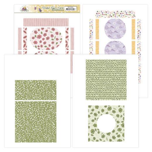 Printed Figure Cards - Precious Marieke - Blooming Summer  PMFC10001