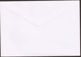 C6 Envelop 11,4x16,2 cm-wit