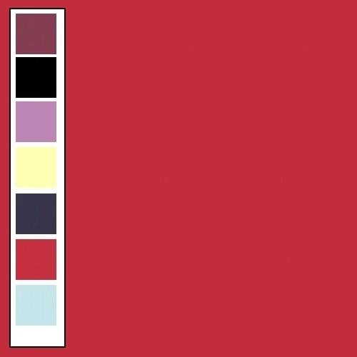 Linnenkarton - Vierkant - Rood 13