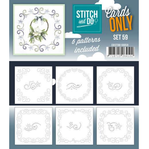 Cards only Stitch 59