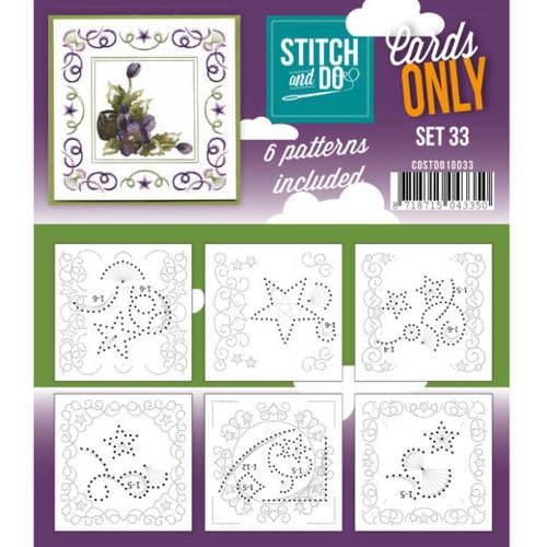 Cards only stitch 33