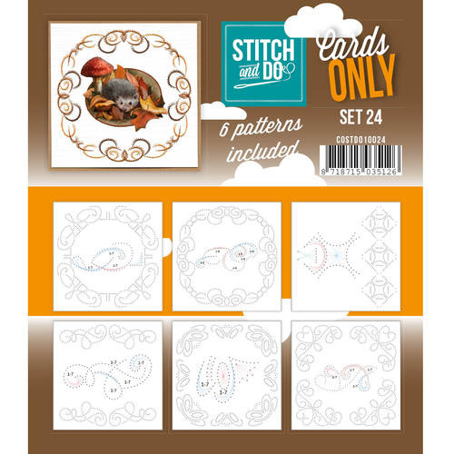 Stitch & Do - Cards only - Set 24