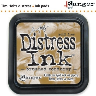 Tim Holtz distress ink pad brushed corduroy 21421