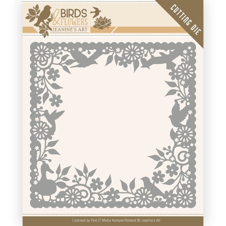 Dies - Jeanine's Art - Birds and Flowers - Birds Frame  JAD10057