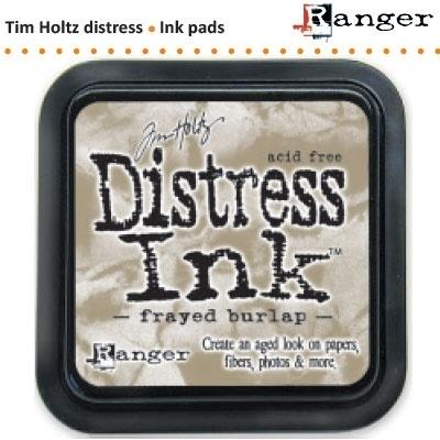 Tim Holtz distress ink pad frayed burlap 21469