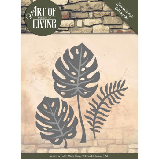 Dies - Jeanine's Art - Art of Living - Leaves   JAD10055