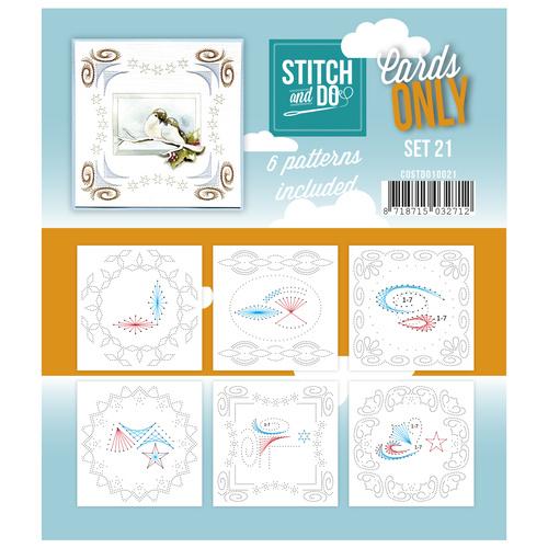 Stitch & Do - Cards only - Set 21